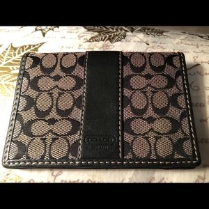 Coach credit card/ID case